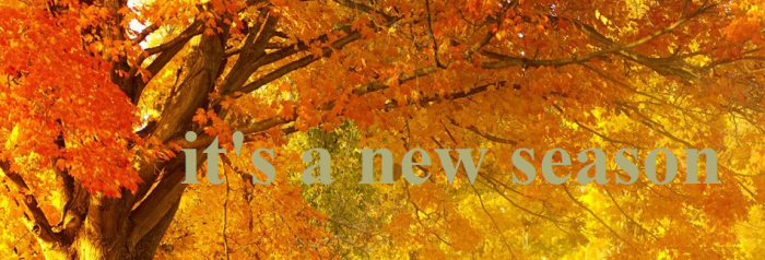 new season Fall Website Banner